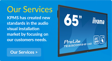 Our Services. KPMS has created new standards in the audio visual installation market by focusing on our customers needs.