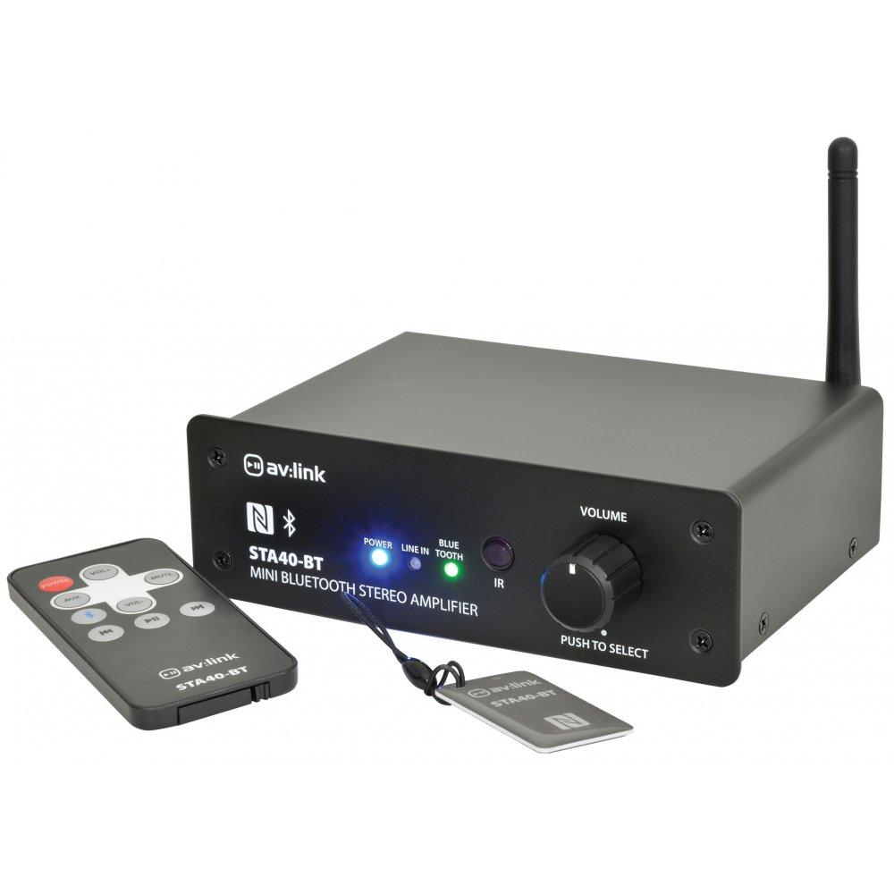 2x50 Watts Mini Digital Stereo Amplifier With Bluetooth Kpms