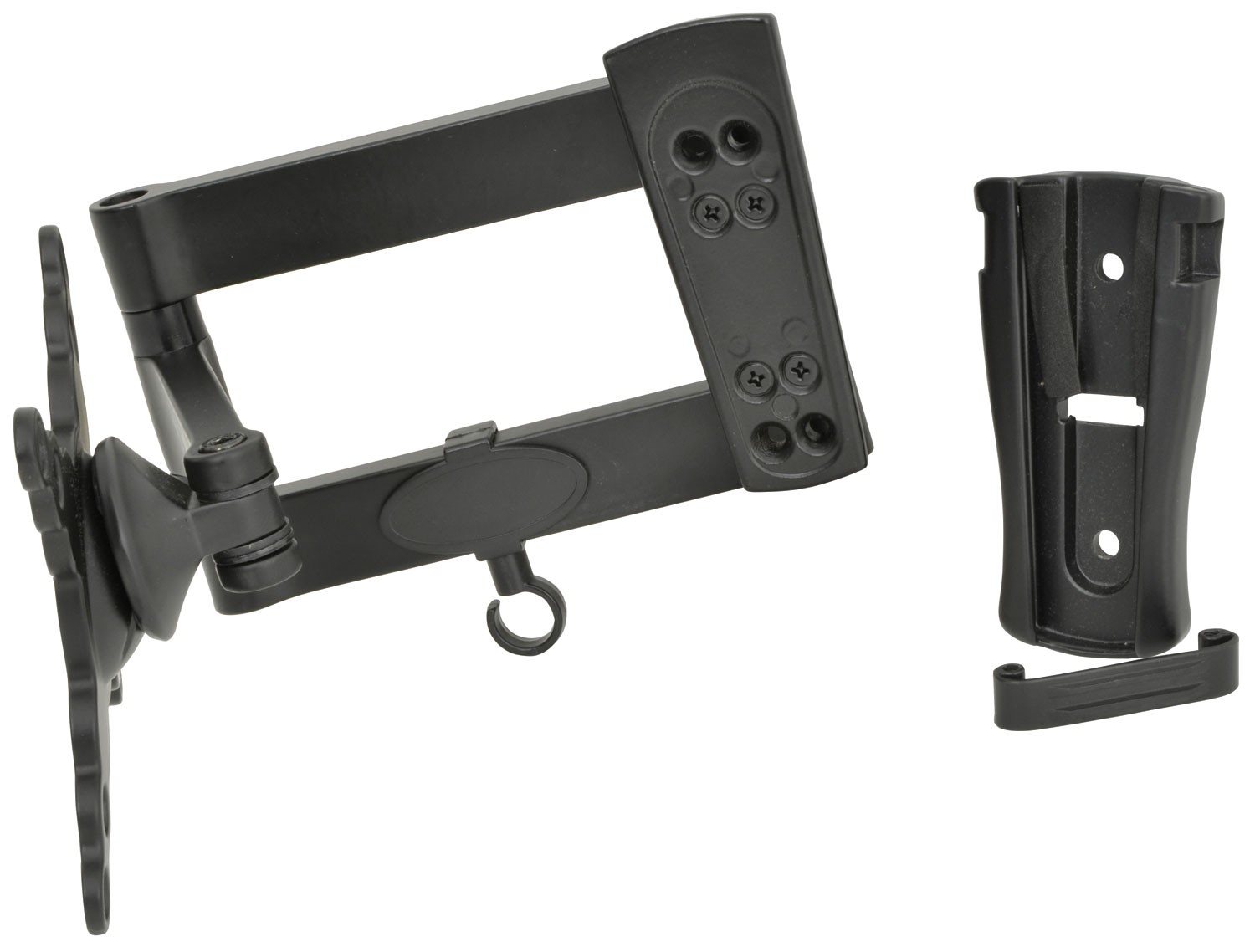 Double Arm Adjustable Tv Monitor Wall Mount Bracket Kpms