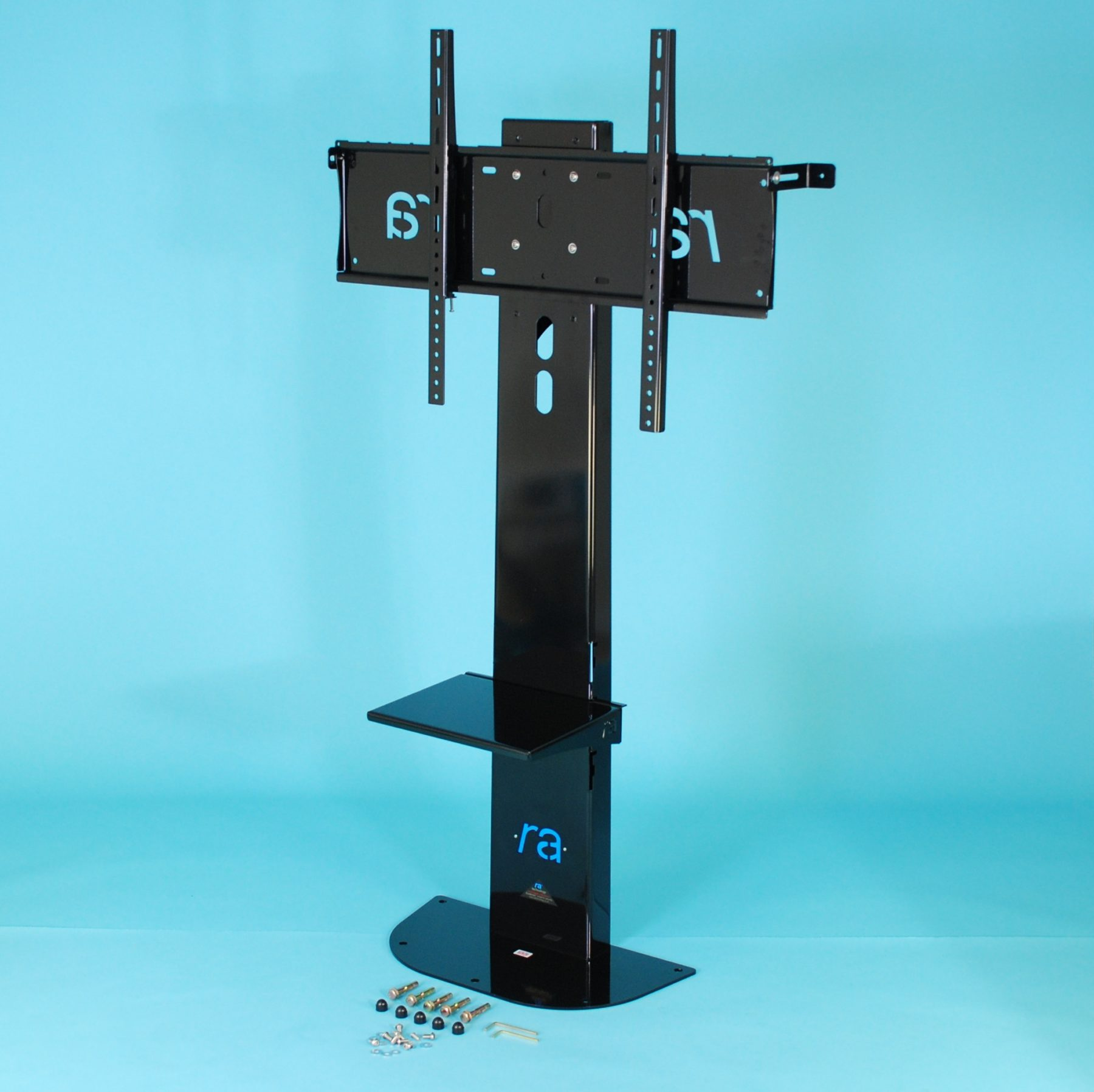 Ra Atlas Flat Screen Fixed Floor Stand For 65 85 Inch