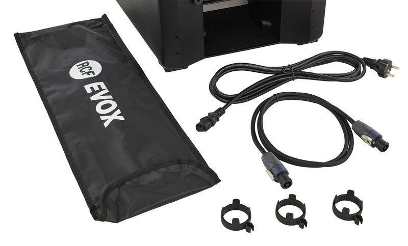 RCF Evox J8 Black Portable Array PA System